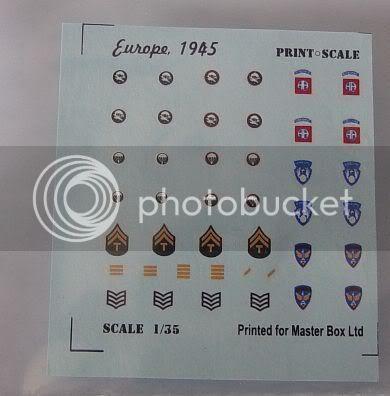 "Master box 1/35 ""Europe, 1945"" Sun60003"