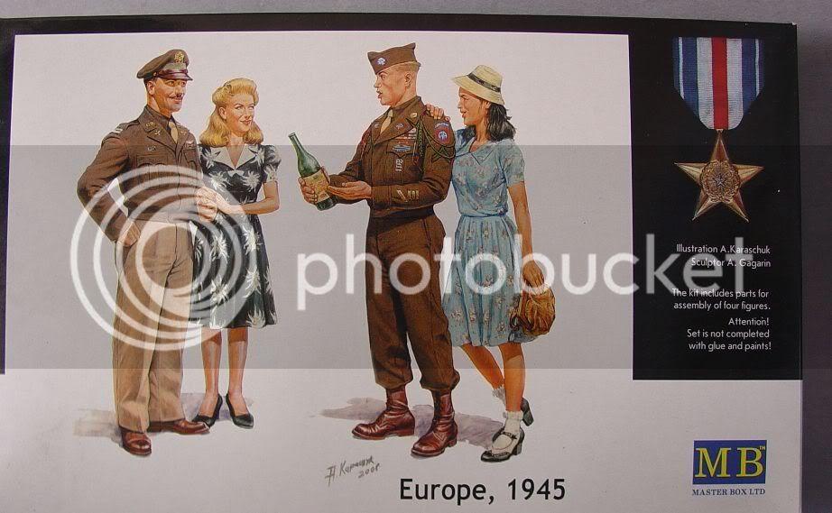 "Master box 1/35 ""Europe, 1945"" Sun60004"