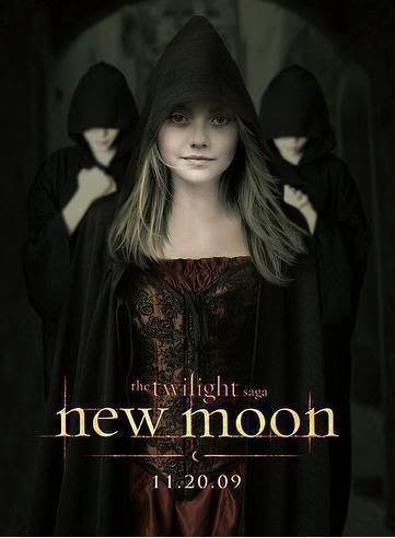 New Moon on November pah! Nmposterjanedfanning