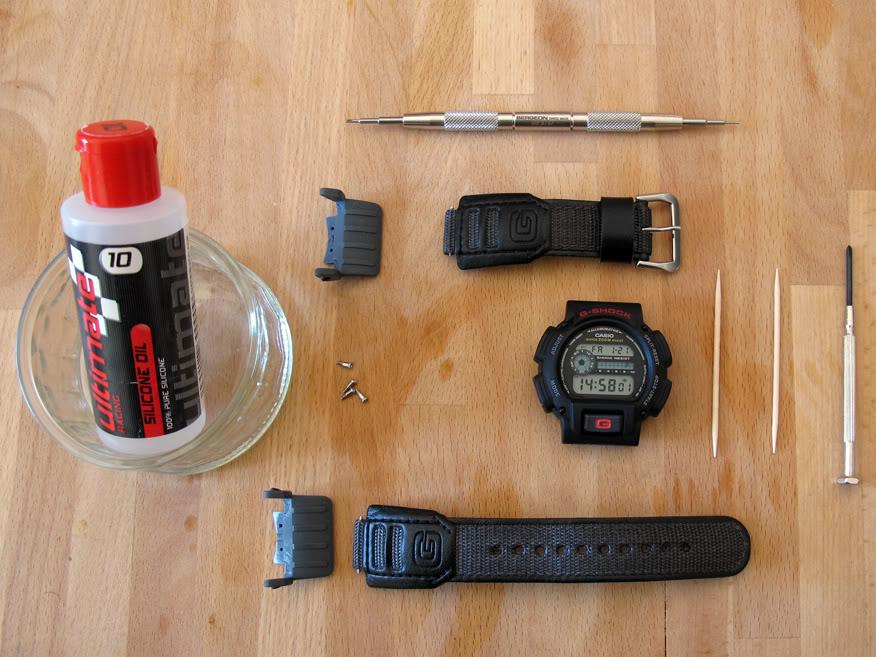 Equipression - HydroMDP : réalisation d'une Casio G-Shock équipression IMG_1137b