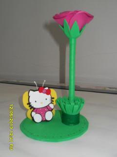 Caneta com Hello Kitty photo SDC11235.jpg