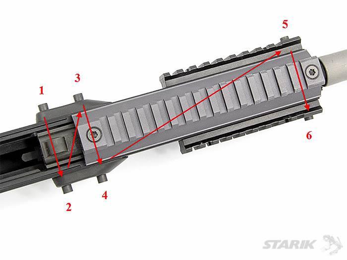 Le FN SCAR® Review: Le démontage du canon RIMG_1109ppt
