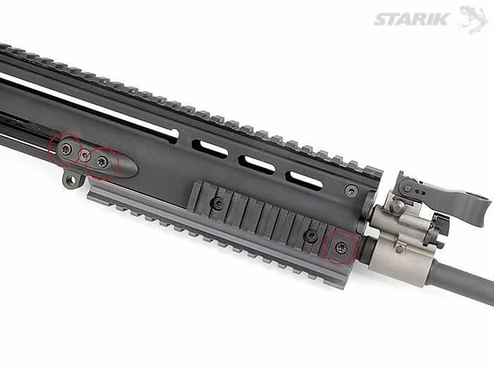 Le FN SCAR® Review: Le démontage du canon RIMG_1114ppt