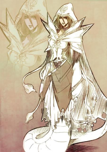 The Eight Demons Naga_witch_by_yaichino