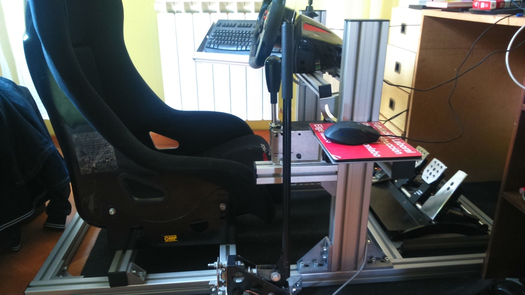 Como fabricar tu propio cockpit en perfileria de aluminio  DSC_0029