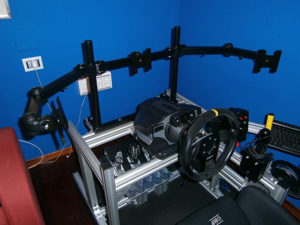 Como fabricar tu propio cockpit en perfileria de aluminio  PA140539