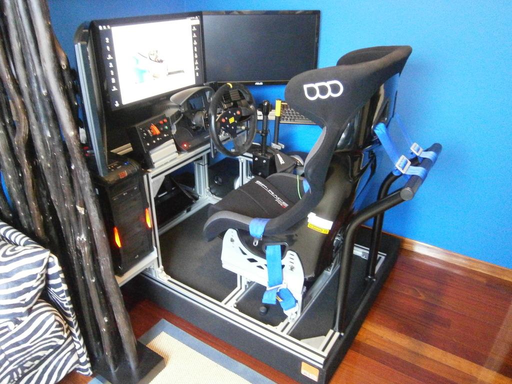 Como fabricar tu propio cockpit en perfileria de aluminio  PC130590