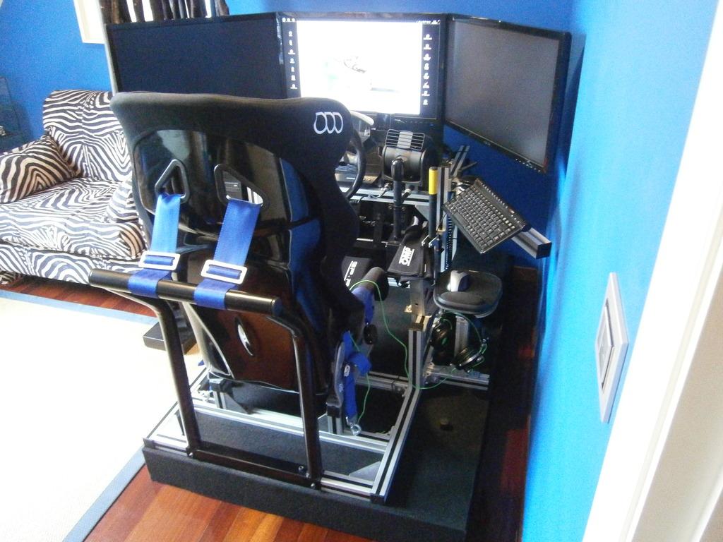 Como fabricar tu propio cockpit en perfileria de aluminio  PC130599