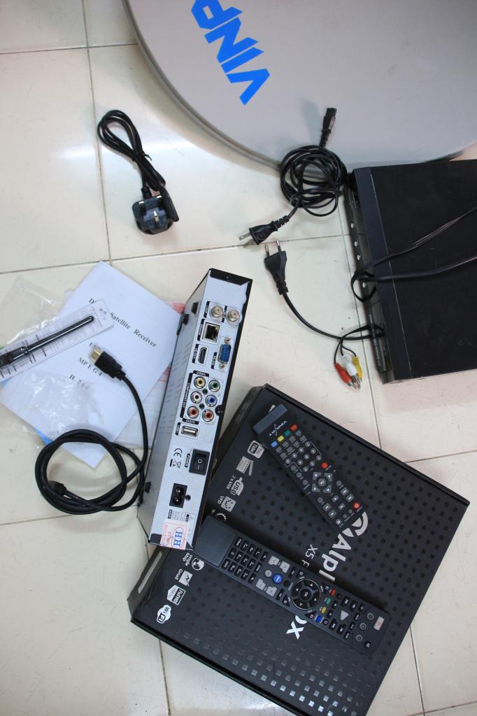[HCM] Chuyển qua chơi DVB-T2 cần bán bộ chảo + Đầu thu Alpha X5 Pro IMG_5877_zpsc4698321