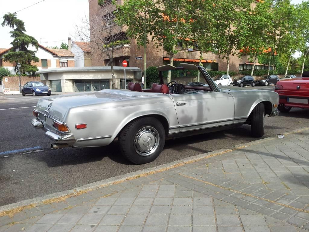 [ FOTOS ] 306 Cabrio vs/ Mercédes SL 20120530_181605