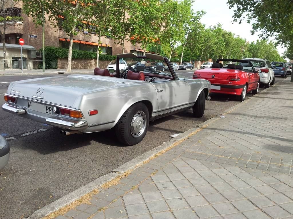 [ FOTOS ] 306 Cabrio vs/ Mercédes SL 20120530_181612