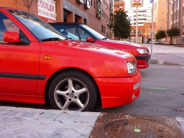 [ FOTOS ] 306 Cabrio vs/ Golf III Cabrio P1050083