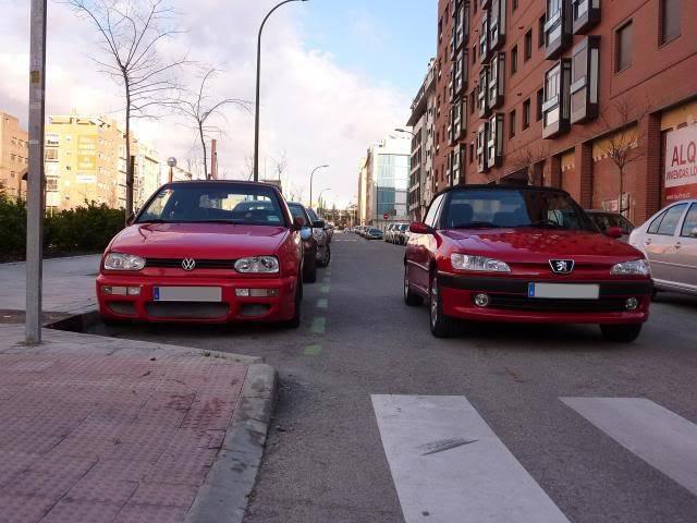 [ FOTOS ] 306 Cabrio vs/ Golf III Cabrio P1050084
