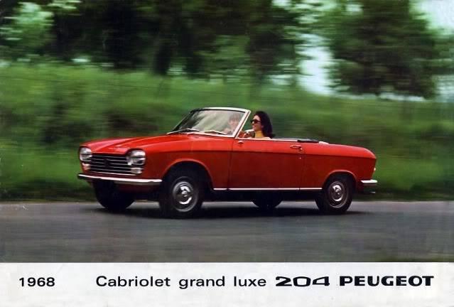 [ FOTOS ] Catalogo de los Peugeot 204 coupé y cabrio 204cab001