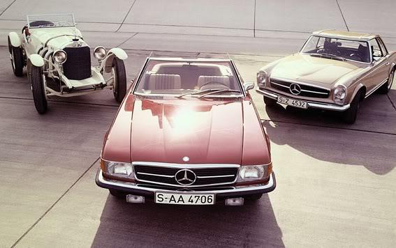 [ FOTOS ] Los 40 años del Mercedes SL107 Mercedes