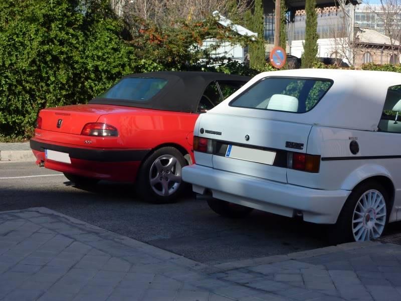 golf - [ FOTOS ] 306 Cabrio vs/ Golf I Cabrio P1070528