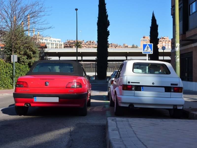 golf - [ FOTOS ] 306 Cabrio vs/ Golf I Cabrio P1070530