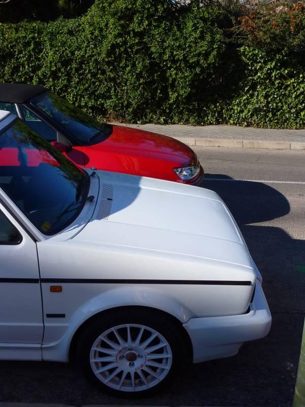 golf - [ FOTOS ] 306 Cabrio vs/ Golf I Cabrio P1070537