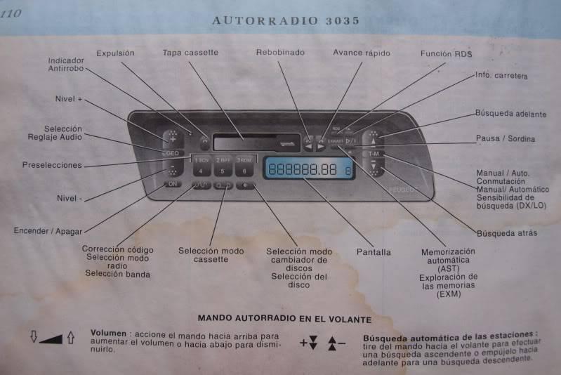 [ AUDIO ] Manuales orginales de los equipos de música de P9039847