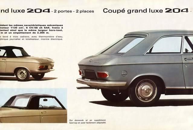 [ FOTOS ] Catalogo de los Peugeot 204 coupé y cabrio 204cab004