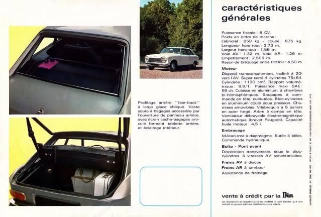[ FOTOS ] Catalogo de los Peugeot 204 coupé y cabrio 204cab006
