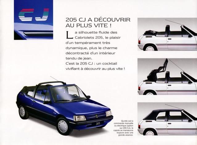 [ FOTOS ] Catalogos de los Peugeot 205 cabrio 205cab1993004