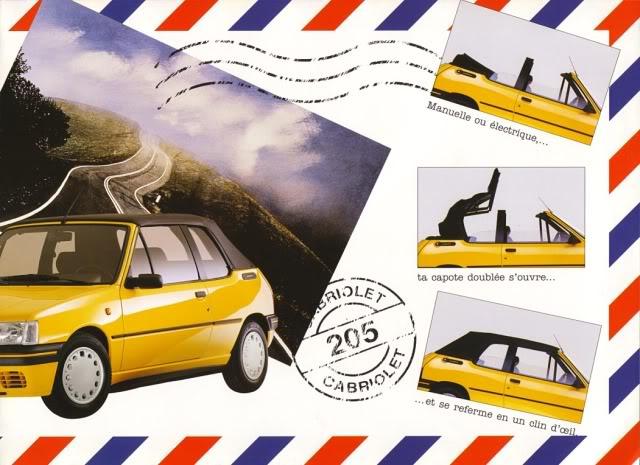 [ FOTOS ] Catalogos de los Peugeot 205 cabrio 205cab1994004