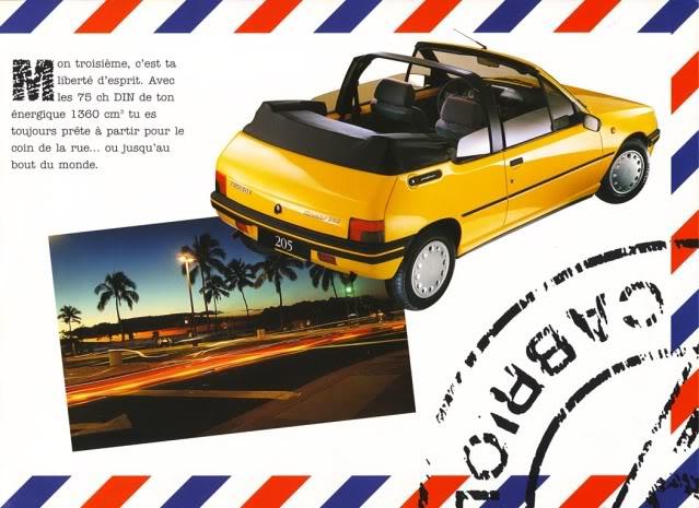 [ FOTOS ] Catalogos de los Peugeot 205 cabrio 205cab1994005