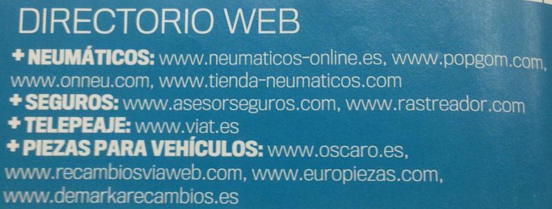 [ RECAMBIOS ] Enlaces para comprar piezas por internet Web