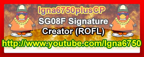 Igna6750plusCP'S Super Signature Shop! SG08FSignatureAllfiredup