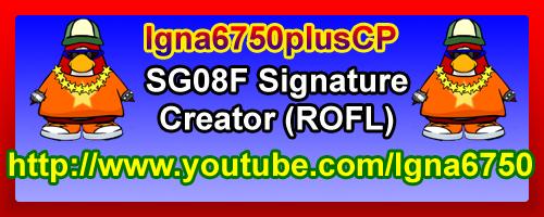 Igna6750plusCP'S Super Signature Shop! SG08FStandardSignature