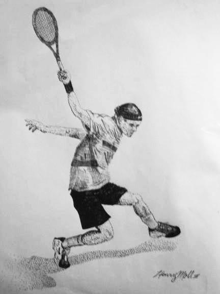 Dibujos de Roger Federer - Página 2 Fed01