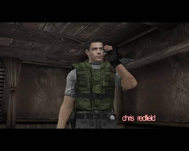 Resident Evil 4  chris redfield ? Ghf-3