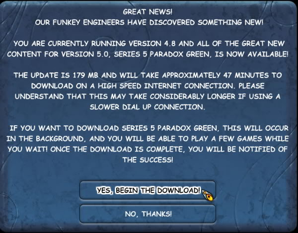 B: Updating Your Game Software PGVersion5_GreatNews