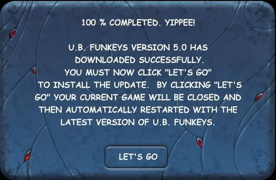 B: Updating Your Game Software PGVersion5_LetsGo
