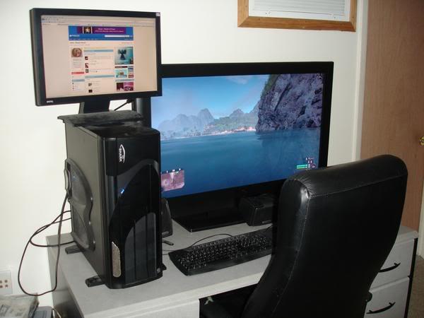 pictures! :D Setup