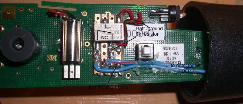 Garrett Pro Pointer pinpointer can make your GPX5000 unstable even when switched off. - Page 3 Installedandexplained