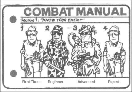 Combat manual 25hjv3p