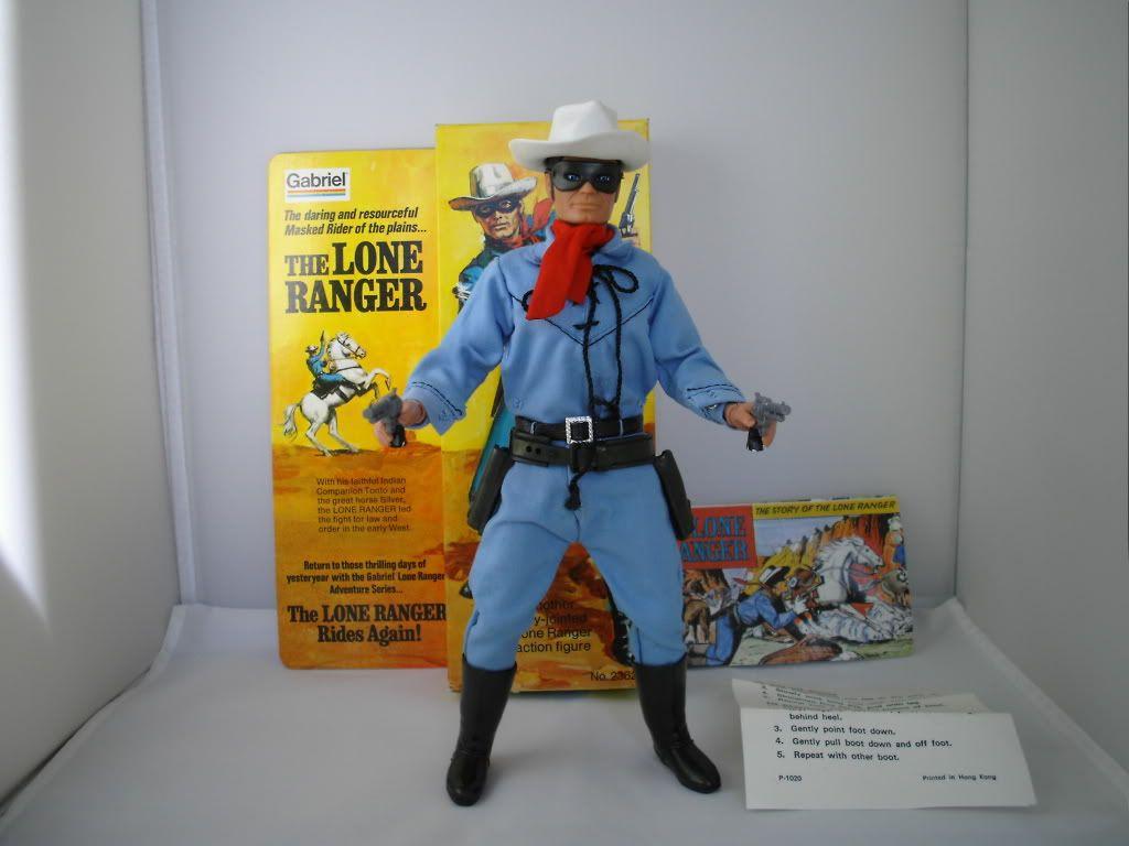 "The lone ranger   ""MARX"" 001-3"