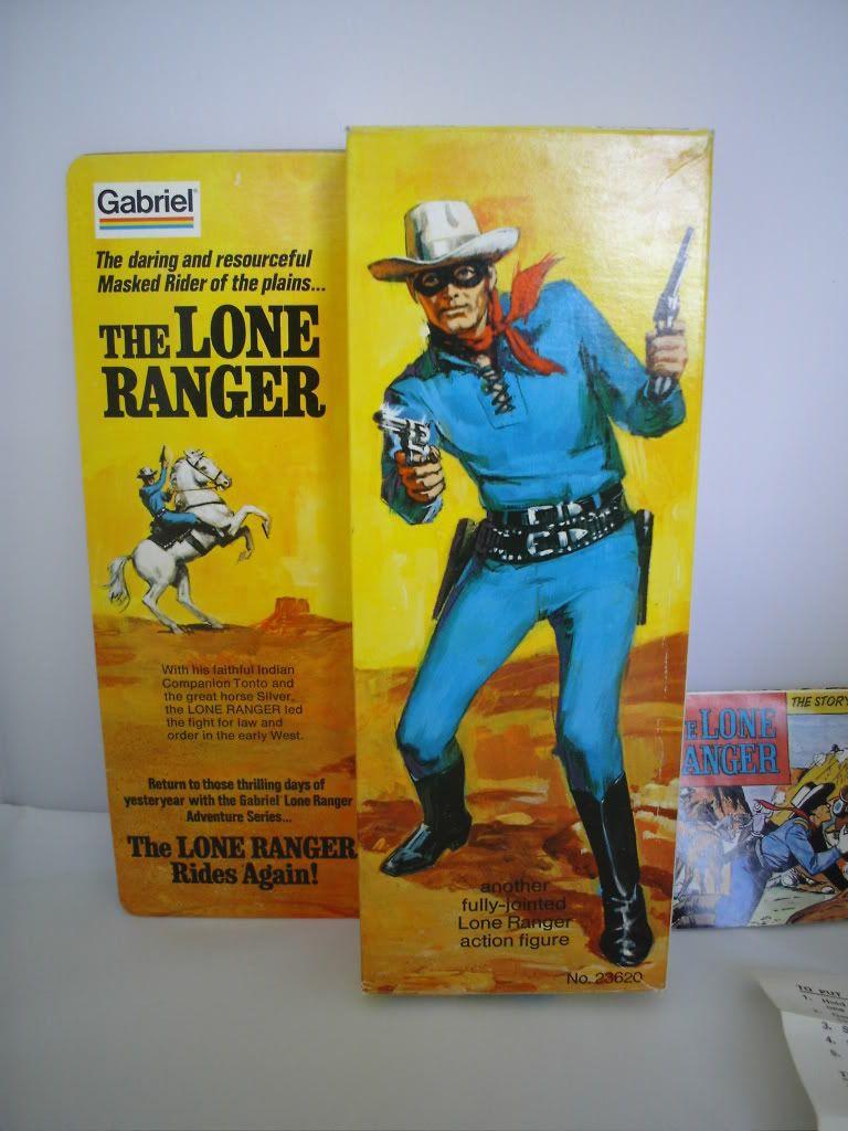 "The lone ranger   ""MARX"" 004-5"