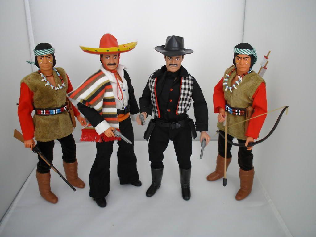 "The lone ranger   ""MARX"" 016-4"