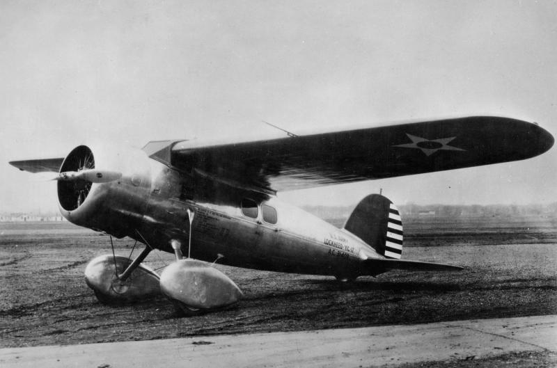 """LOCKHEED VEGA , """"Winnie Mae"""" Lockheed_Y1C-17_zpsabb324e6"""