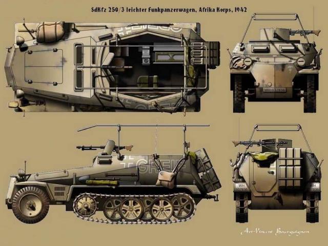 "Sd Kfz 250/3 ""GREIF"" , Tobruk 1942 (terminado 24-06-14) Greif1_zpsa92c3ad9"