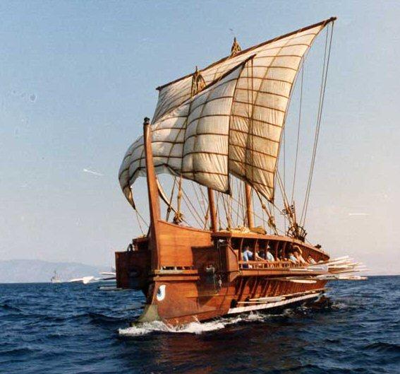 Trirreme Griega 480 a.C 121trirreme2-1