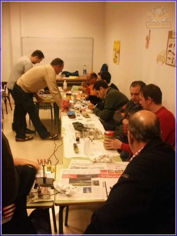 Fotos , 2º curso 2012 (vehiculos militares), AIME 122reunionAIMEpeazo-gato