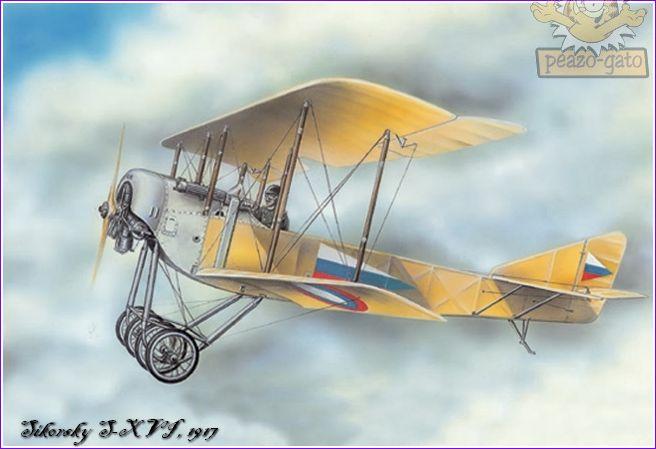 Sikorsky S-XVI , 1916 1SikorskyS-XVIpeazo-gato