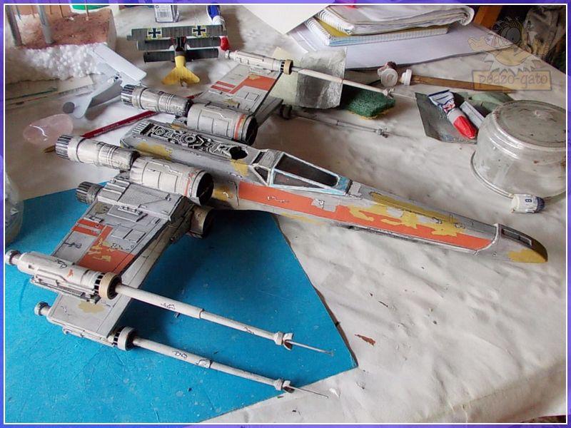 X-Wing del 4º Reich 1X-WING4reichpeazo-gato
