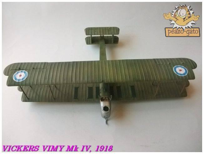 Vickers Vimy Mk IV , 1918 (terminado 27-03-13) 64ordmVickersVimypeazo-gato_zps96695362