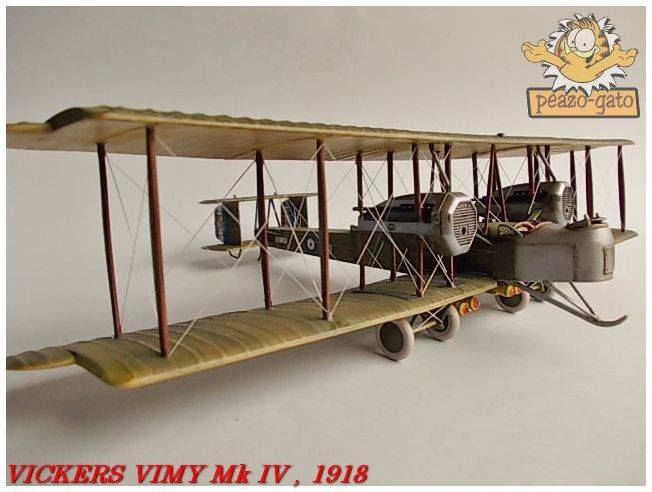 Vickers Vimy Mk IV , 1918 (terminado 27-03-13) 75ordmVickersVimypeazo-gato_zps27693f43