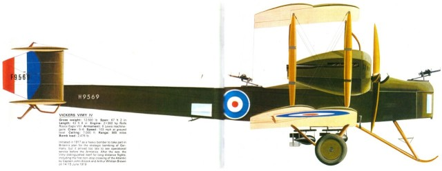 Vickers Vimy Mk IV , 1918 (terminado 27-03-13) VickersVimyIV_zps764cded0